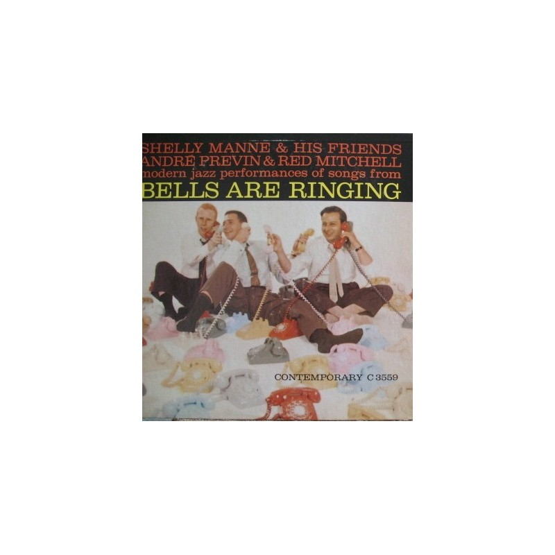 Manne Shelly & His Friends, André Previn & Red Mitchell ‎– Bells Are Ringing|1959   C 3559