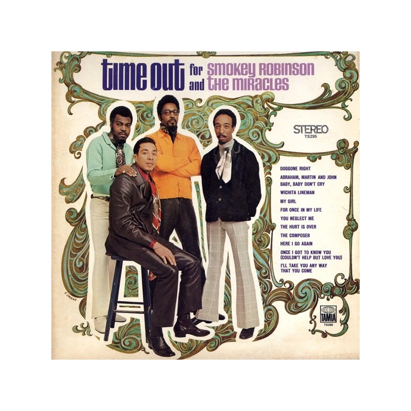Robinson Smokey And The Miracles – Time Out For ..|1969 Tamla TS-295