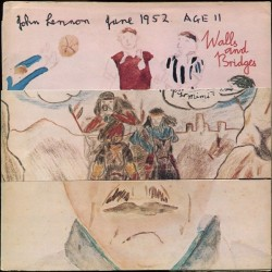 Lennon John – Walls And Bridges|1974 Apple PCTC 253 Gimmix Cover