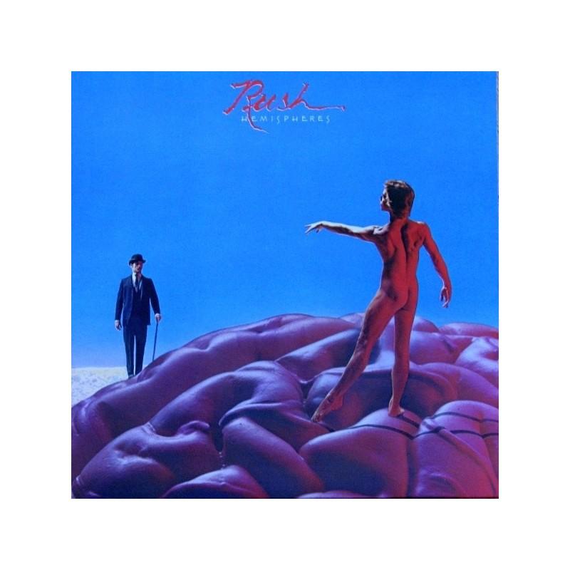 Rush – Hemispheres|1978  SANR-1-1015 Canada  Red Vinyl