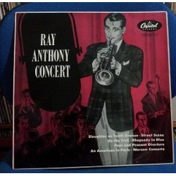 AnthonyRay and His Orchestra ‎– Concert|1953 Capitol Records ‎– LCT 6112