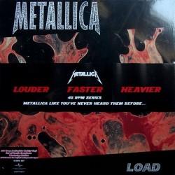 "Metallica – Load|2010 Universal– 00 6007 532 869-0 6 - 4 × Vinyl, 12"", 45 RPM, Album, Reissue -ohne Banderole !!"