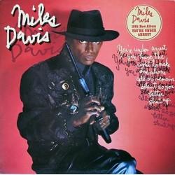 Davis Miles – You're Under Arrest|1985    CBS 26447