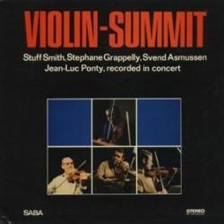 Smith Stuff / Stephane Grapelly / Svend Asmussen / Jean-Luc Ponty – Violin-Summit|1966 SABA – SB 15 099 ST