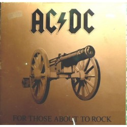 AC/DC – For Those About To Rock We Salute You 1981 Atlantic – ATL 50851-1