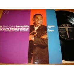 Gillespie Dizzy Quintet ‎– An Electrifying Evening |1961 Verve Records V6-8401