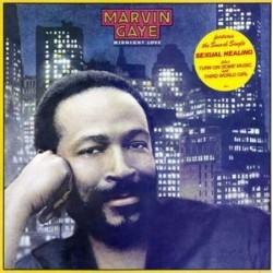 Gaye Marvin ‎– Midnight Love|1982 CBS 32776