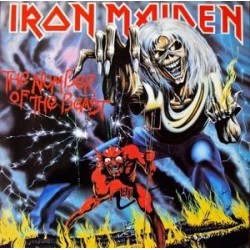 Iron Maiden – The Number Of The Beast 1982 EMI Electrola 1C 064-07 608