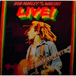 Marley Bob and The Wailers  ‎– Live!|1975     Island Records 89 729 XOT