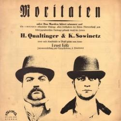 Qualtinger H.  & K. Sowinetz  / Ernst Kölz – Moritaten Oder Das Morden Höret Nimmer Auf|1964   Unikum – ST-UN 305