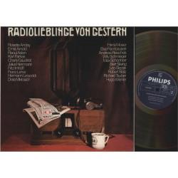 VARIOUS-RADIOLIEBLINGE-VON-GESTERN ORF-PHILIPS-6641216 2 LP-BOX mit Booklet