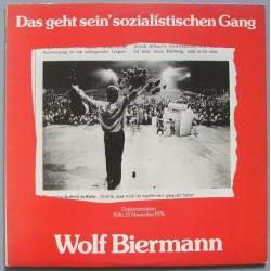 Biermann Wolf – Das Geht Sein' Sozialistischen Gang|1977 CBS 88 224 2LP