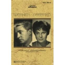 Werner Oscar/Seefried  – Hugo Wolf • Eduard Mörike. Nimmersatte Liebe|1988   Literatur Amadeo – 423 764-1