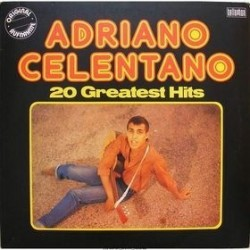 Celentano ‎Adriano – 20 Greatest Hits| Bellaphon ‎– 22007020