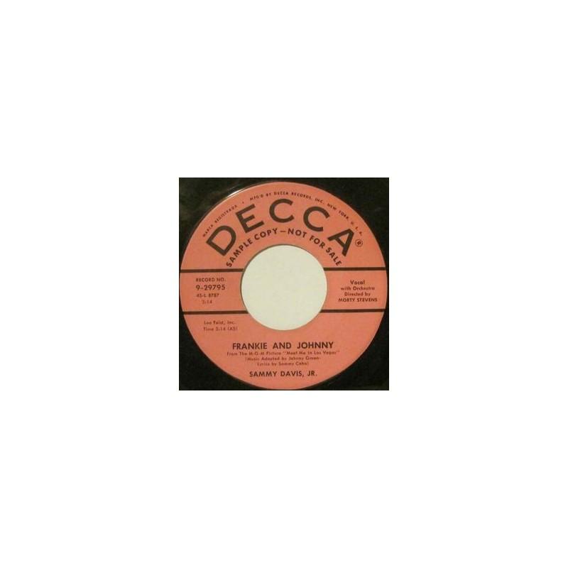 Davis Sammy Jr. – Frankie And Johnny / Circus|1956   Decca – 9-29795-Single, Promo
