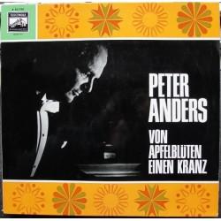 Anders Peter – Von Apfelblüten Einen Kranz| Electrola – E 83 740