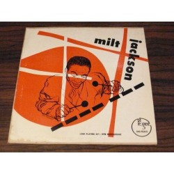 "Jackson Milt Quartet  – Milt Jackson|1952      Dee Gee – DG 1002- 10"" Record"