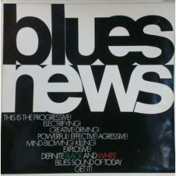 Various ‎– Blues News|1969 Polydor ‎– 109 577-white Vinyl