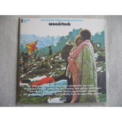 Various ‎– Woodstock - Music From The Original Soundtrack And More|1970 Cotillion ‎– ATL 60 001