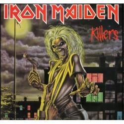 Iron Maiden – Killers 1981 EMI Electrola 1C 038-15 7593 1
