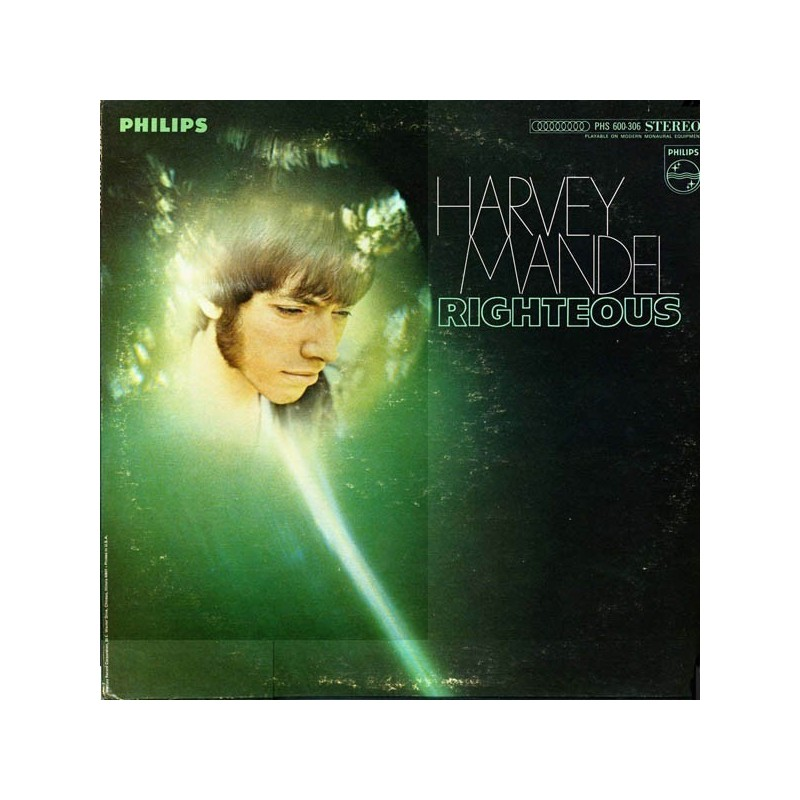 Mandel Harvey ‎– Righteous|1969     Philips	PHS 600-306