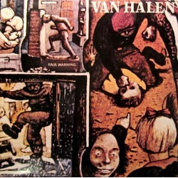 Van Halen – Fair Warning|1981 Warner WB 56899
