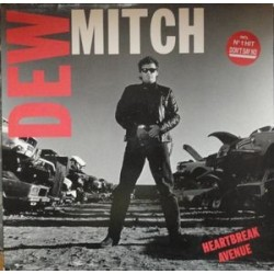 Dew Mitch ‎– Heartbreak Avenue|1988  	Amadeo	833 173-1