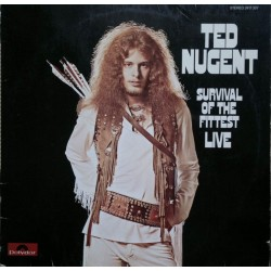 Nugent Ted – Survival Of The Fittest - Live    Polydor – 2417 307