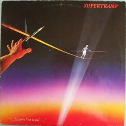 "Supertramp – ""...Famous Last Words...""|1982 A&M Records – AMLK 63732"