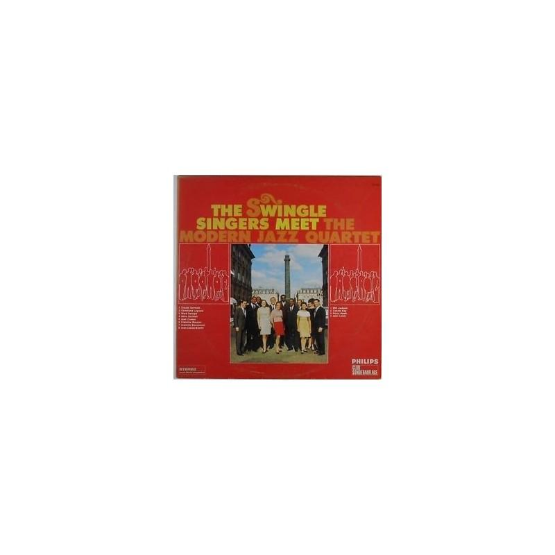 SWINGLE SINGERS MEET THE MODERN JAZZ QUARTET|1968 Philips-77443