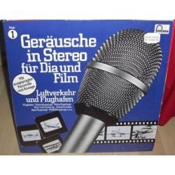 Geräusche In Stereo Für Dia Und Film - Folge 1 - Luftverkehr Und Flughafen|1979    Fontana – 6484 010