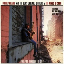 Wallace ‎Bennie – Sweeping Through The City|1984     Enja Records ‎– enja 4078