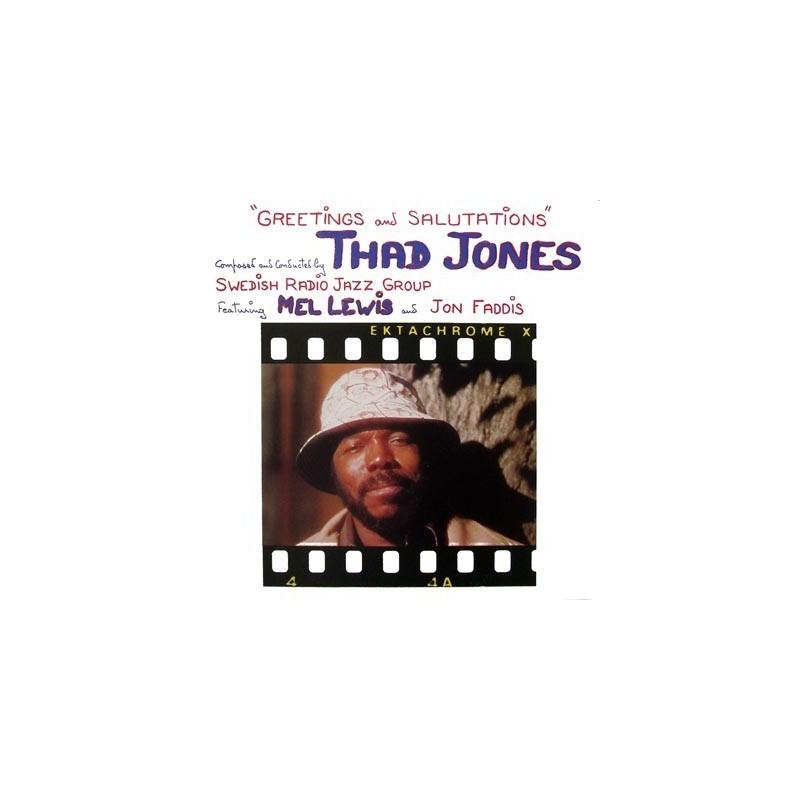 Jones Thad - Swedish Radio Jazz Group – Greetings And Salutations|1988 Tonpress – SX-T 104
