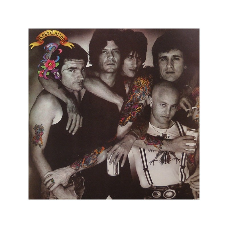 Rose Tattoo – Assault & Battery 1981 WEA – WEA 58 359