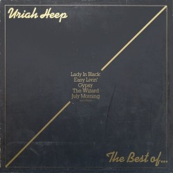Uriah Heep ‎– The Best Of...|1975 Bronze ‎– 28 784 XOT