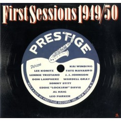Various ‎– First Sessions 1949/50|1978 Prestige ‎– P 24081
