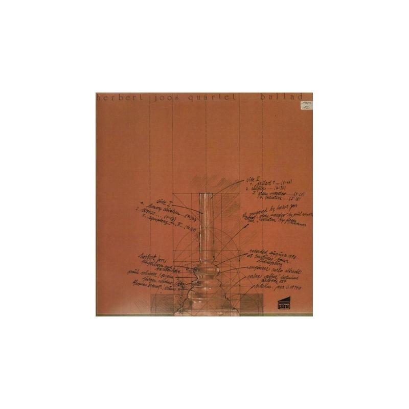 Joos Herbert Quartet – Ballad 1|1979 pläne – Jazz G 88140