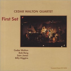 Walton Cedar Quartet ‎– First Set|1978 SteepleChase ‎– SCS-1085