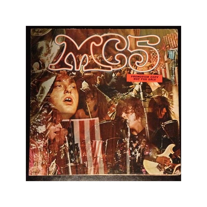 MC5 ‎– Kick Out The Jams|1969 Elektra ‎– ELK 22 02