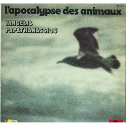 Vangelis Papathanassiou ‎– L'Apocalypse Des Animaux|1973 Polydor ‎– 2489 113