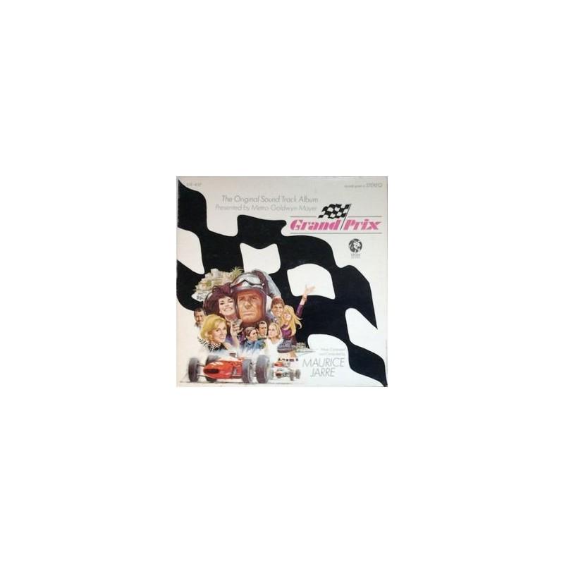 Grand Prix-Sound Track-Maurice Jarre |1966   665 071Germany