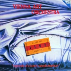 Vienna Art Orchestra – Nightride Of A Lonely Saxophoneplayer|1986    Moers Music – 02054/5