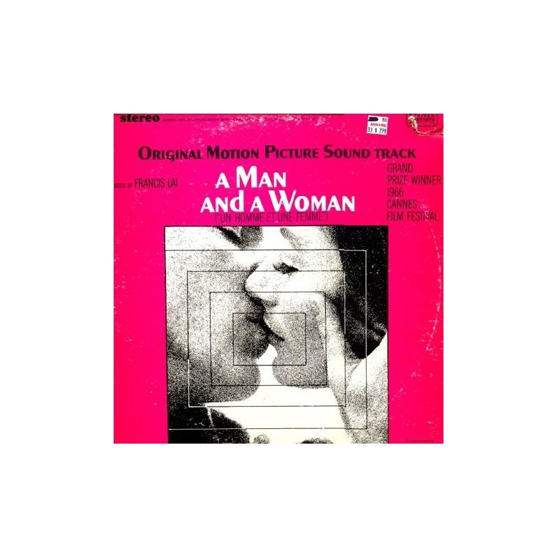 A Man And A Woman-Soundtrack-Francis Lai   UAS 5147