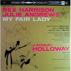 Harrison-Rex Julie Andrews ‎– My Fair Lady - Original Broadway Cast|1959 Columbia Masterworks ‎– OS 2015