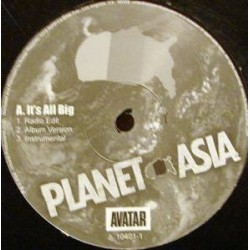 Planet Asia ‎– It&8217s All Big / Right Or Wrong|2004  10401-1  Maxi Single