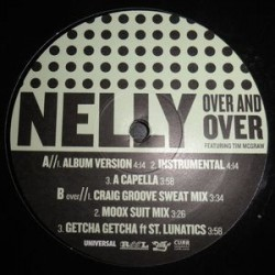 Nelly ‎– Over And Over|2004 NELLYVP9 Promo Maxi Single