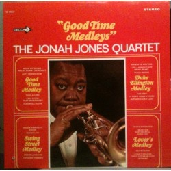 Jones Jonah Quartet The – Good Time Medleys|Decca – DL 74861