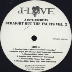 J-Love ‎– J-Love Archives: Straight Out The Vaults Vol. 3|2006  JLOVE-103