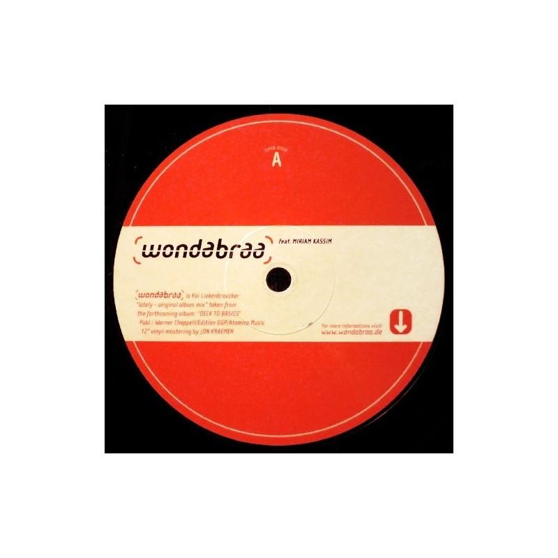 Wondabraa feat. Miriam Kassim – Lately 2000  RTD 171.2704.0  Maxi Single