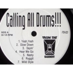 Unknown Artist ‎– Calling All Drums!!!|2007 FTB-023